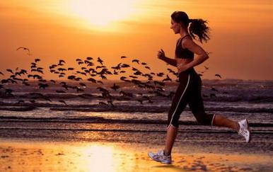 Бег - упражнение для девушек