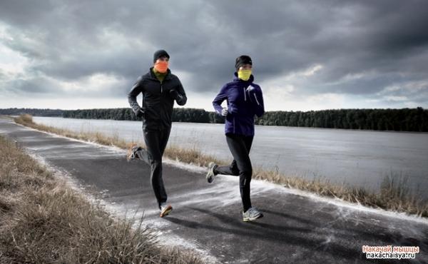 Зимний бег: одежда